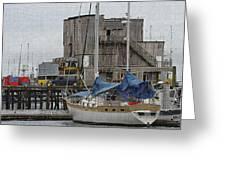 Westport Docks Greeting Card