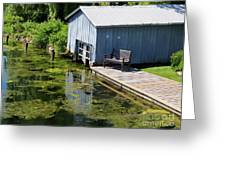 Westport Harbour In Southern Ontario Greeting Card