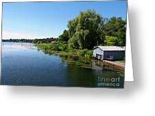 Westport Harbour On Upper Rideau Lake Greeting Card