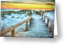 Where The Path Leads Greeting Card by Ken Johnson