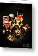 Whisky Wagons Greeting Card