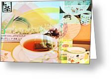 White Tea Blend  Greeting Card