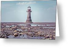 Whiteford Point Lighthouse Greeting Card by Elliott Coleman