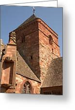 Whitekirk 12th Century Church Tower In East Lothian Greeting Card