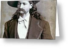 Wild Bill Hickok  1873 Greeting Card
