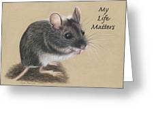 Wild Deer Mouse Greeting Card