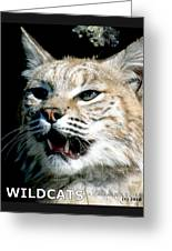 Wildcats Mascot 2 Greeting Card