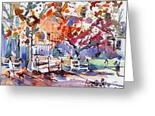 Williamsburg Color Greeting Card
