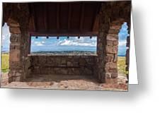 Window View - Ccc Lookout- Cedar Breaks - Utah Greeting Card