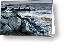 Winter By The Sea Greeting Card