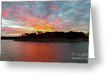 Winter Morning Sky Greeting Card