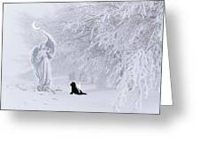 Winter Solstice Holiday Card Greeting Card