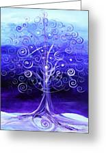 Winter Tree One Greeting Card