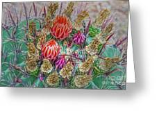 Withering Beauty Greeting Card