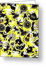 Wonderland Design Greeting Card