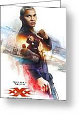 xXx Return of Xander Cage Greeting Card
