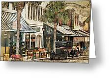 Ybor City Movie Set Greeting Card