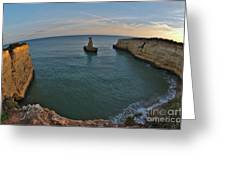 Yellow Submarine Bay In Lagoa Greeting Card