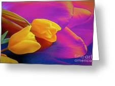 Yellow Tulips 2 Greeting Card