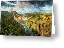 Yellowstone National Park - 05 Greeting Card