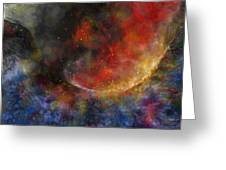 Ying Yang Fire And Water Greeting Card