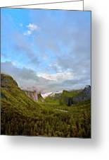 Yosemite On A Good Day Greeting Card