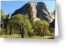 Yosemite Valley Serenity Greeting Card
