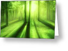A Green Day - Greeting Card Product by Matthias Zegveld