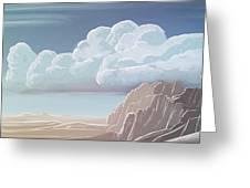 Desert Mountains - Greeting Card Product by Matthias Zegveld