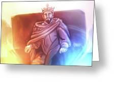 Great King David - Greeting Card Product by Matthias Zegveld