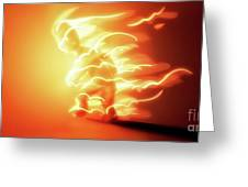I'm on Fire - Greeting Card Product by Matthias Zegveld
