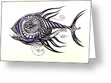 Asynchronous Hate Fish Greeting Card