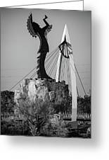 Wichita Kansas Art Print with unique One Line Drawing Wichita Kansas Wall Art Wichita Wall Decor with the Keeper of the Plains