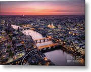 Photography Cityscape Composition Aerial View London Thames 12X16 Framed Print