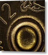 12 Gauge Shotgun Shell Metal Print by Bob Orsillo