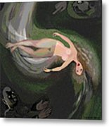 161 - Dizzy Spin  3  Metal Print by Irmgard Schoendorf Welch