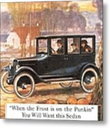 1920s Usa Overland Cars Metal Print