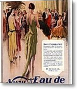 1928 1920s Uk 4711 Eau De Cologne Metal Print