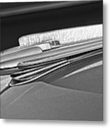 1948 Chevrolet Hood Ornament Metal Print