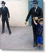 3 Godfathers Homage 1948 Ok Corral Tombstone Arizona  Metal Print