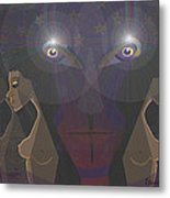 464 - Virgins For Lucifer   Metal Print
