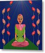 849 - Inner  Balance   Metal Print