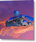 A Flying - Flying Lady  Metal Print