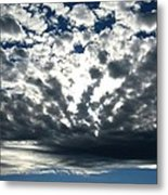 A Glorious Cloudscape Metal Print