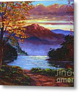 A Moment Of Softness Metal Print by David Lloyd Glover