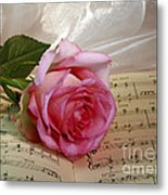 A Tribute To Diana Ross The Rose Metal Print