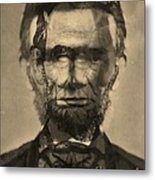 Abraham Lincoln Metal Print by Michael Kulick