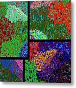 Abstract Fusion 86 Metal Print
