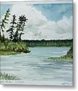 Allequash Lake Metal Print