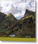 Along The Southern Coast Of Iceland. Metal Print